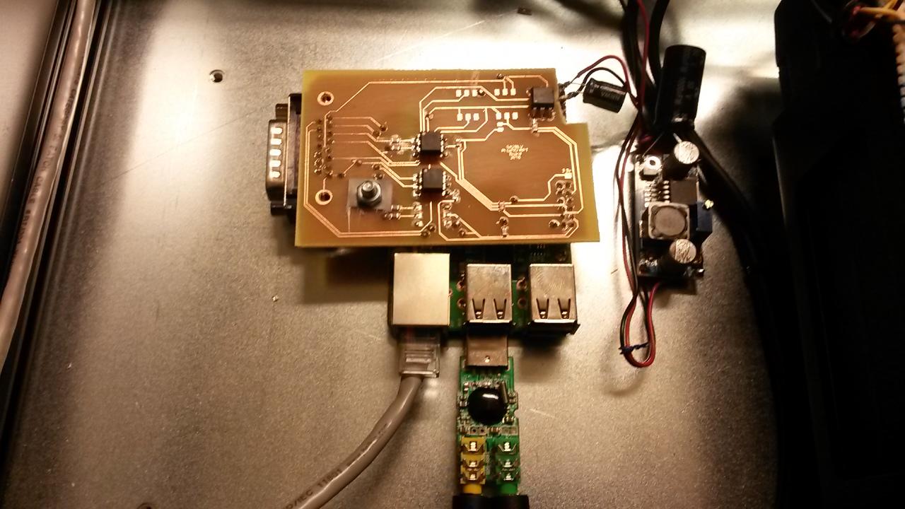 F800 repeater Pi I/O kort